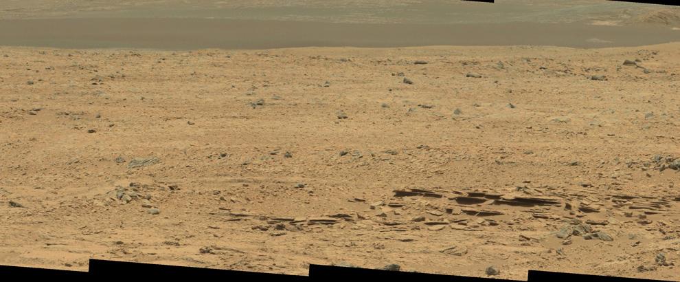 Часть мозаики кратера Гейла.