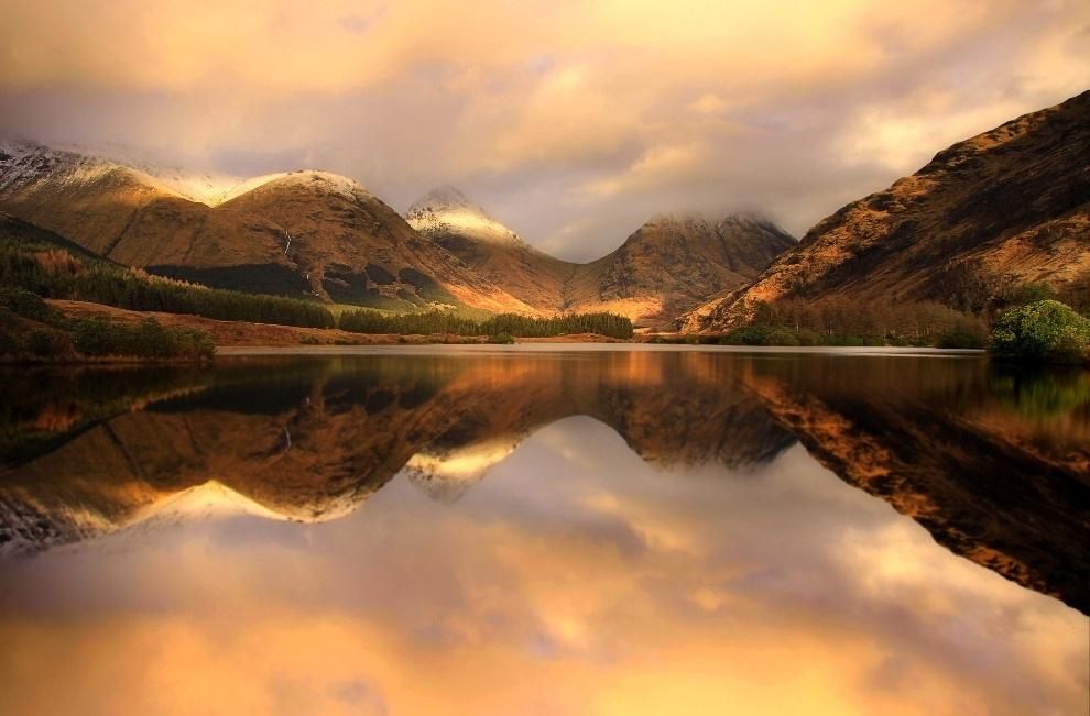 Природные зеркала. Фотограф Roger Merrifield