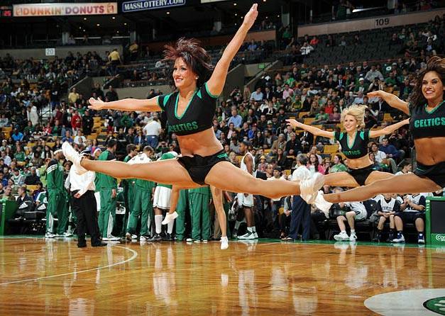 Boston Celtics - cheerleaders NBA october 2012 / девушки из групп поддержки в баскетболе НБА