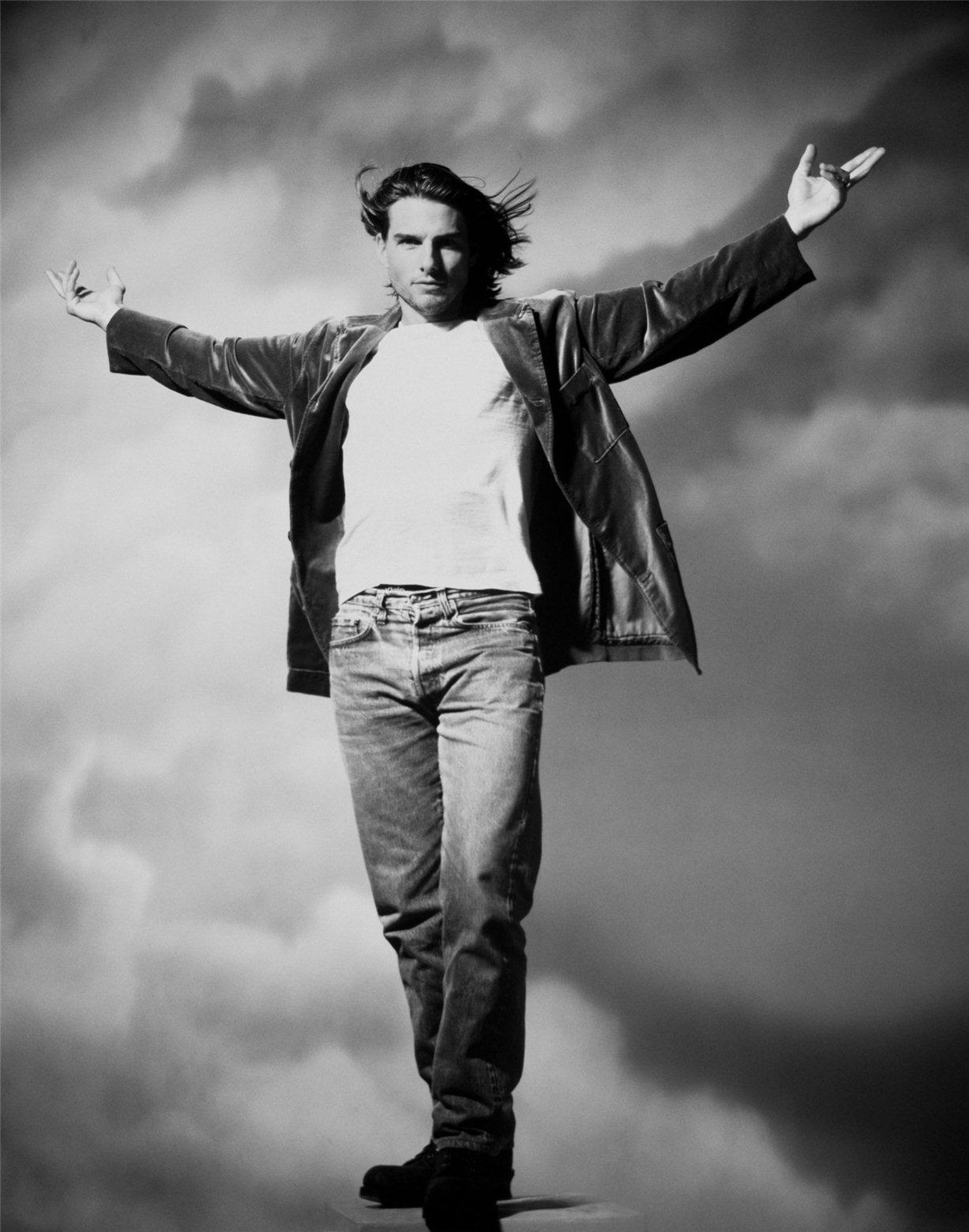 Tom Cruise / Том Круз - звезды Голливуда, фотограф Firooz Zahedi
