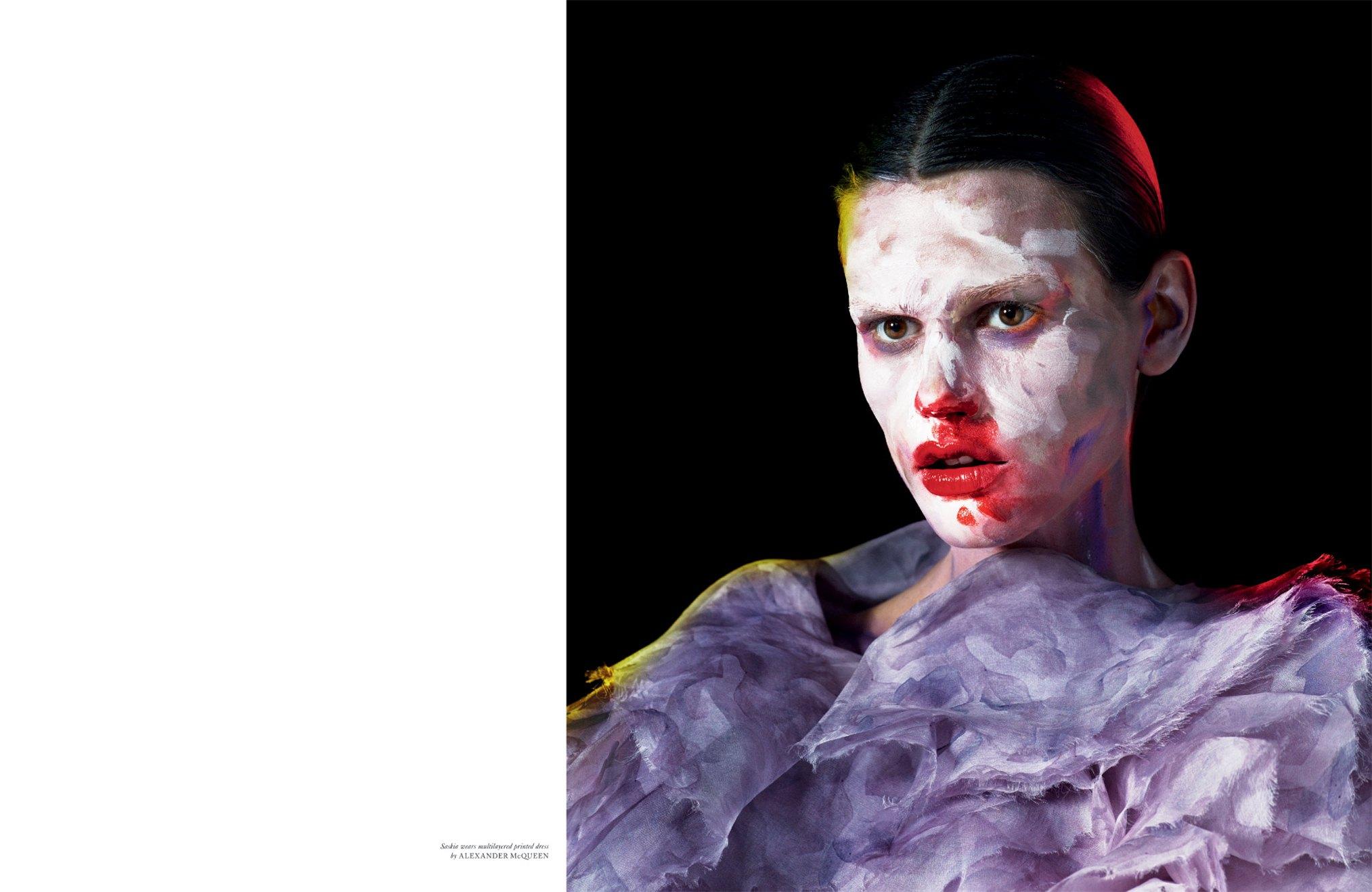 Саския де Бро / Saskia De Brauw - Fawnicate by Mert - Marcus in LOVE Magazine fall-winter 2012