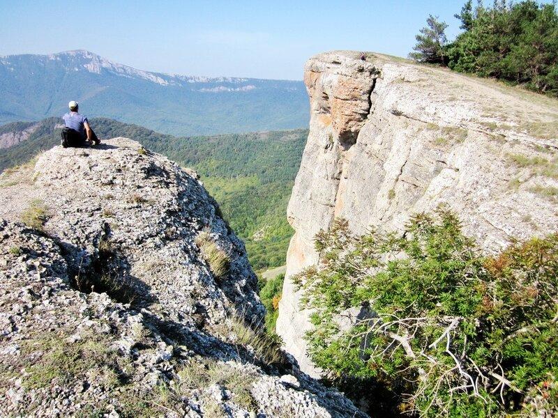 На скале Козырек