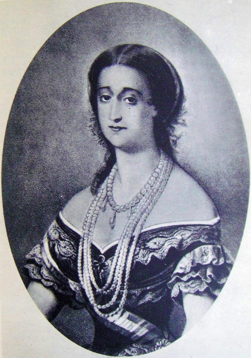 Портрет Евгении де Монтихо (1826-1920)