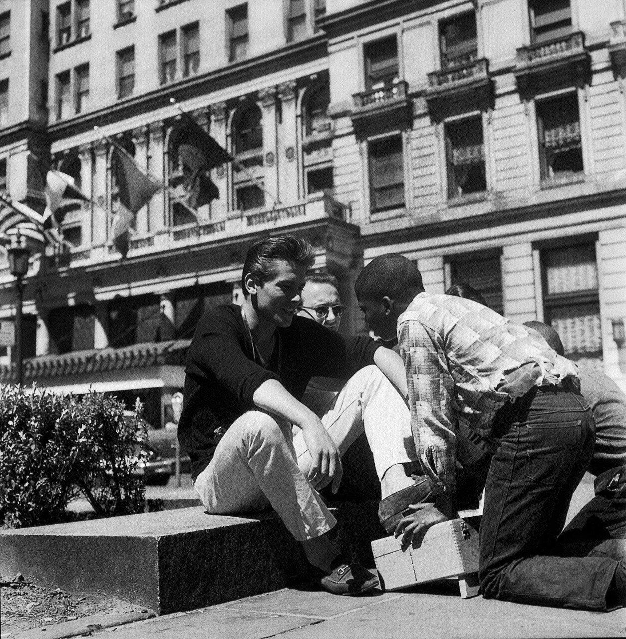 1958. В Нью-Йорке