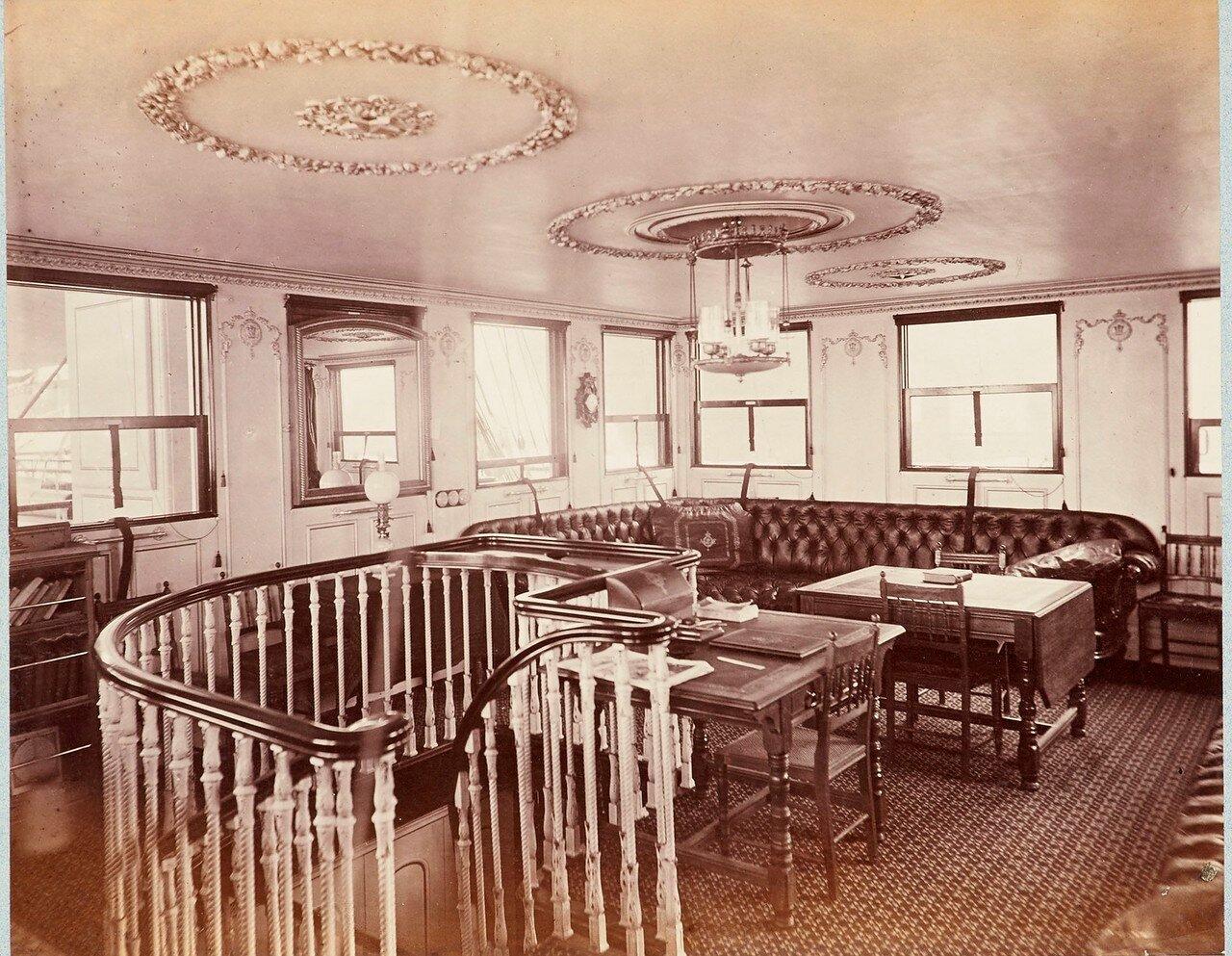 161. Курительная комната, HMS «Серапис»