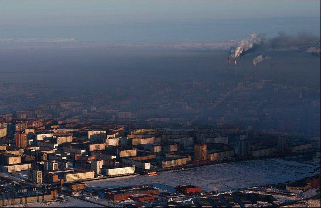 13. Промышленный город Норильск