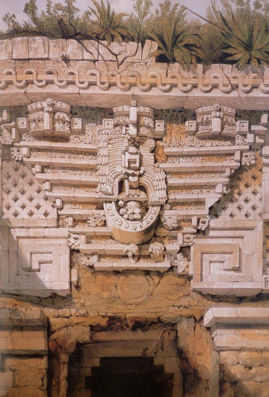 22. Ушмаль. Орнамент ворот дворца губернатора