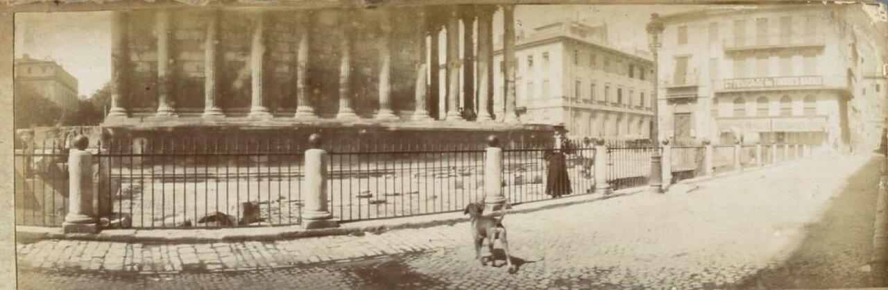 Мезон Карре. 1900-е