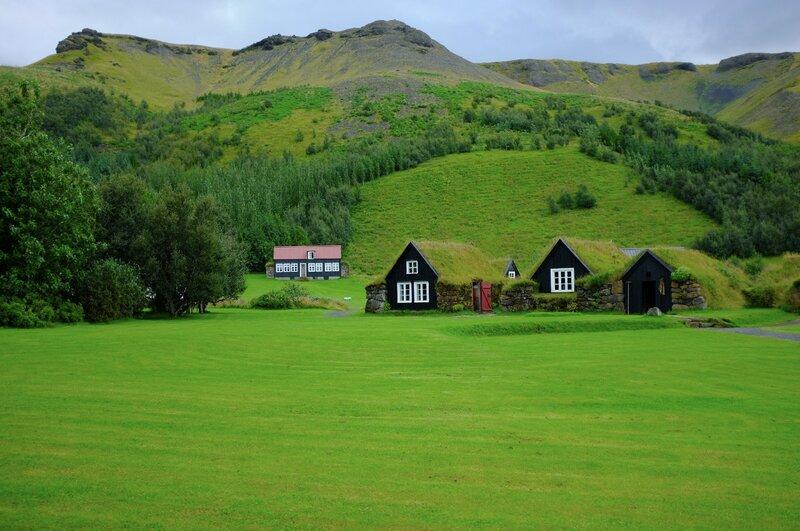 В Исландии.