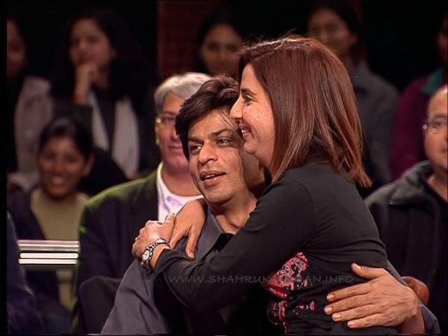 Shahrukh Khan & Farah Khan