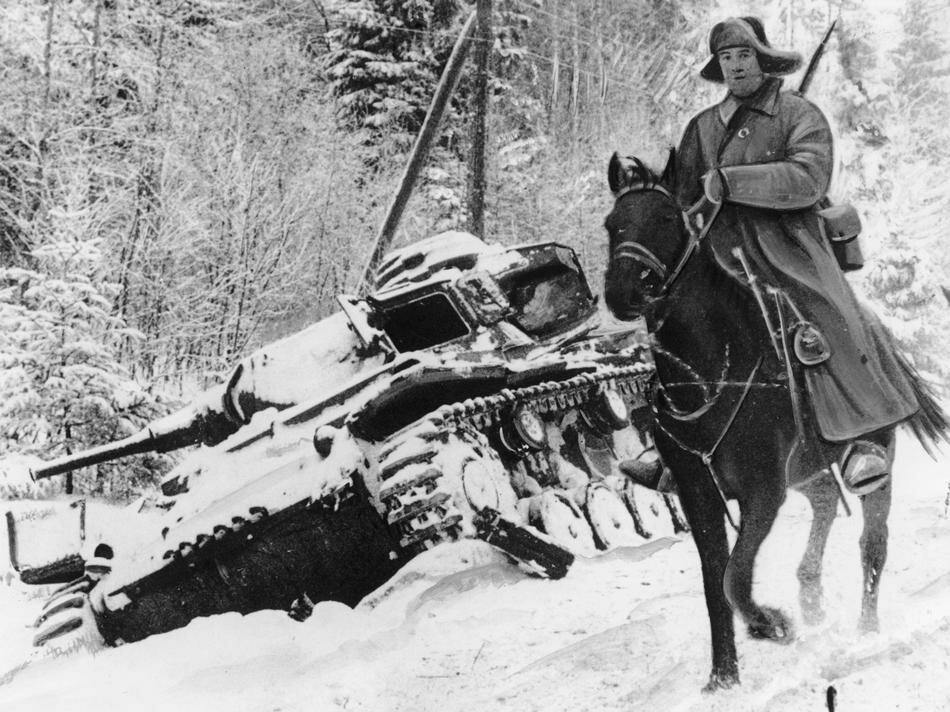 WWII  RED ARMY CAVALRY RIDER