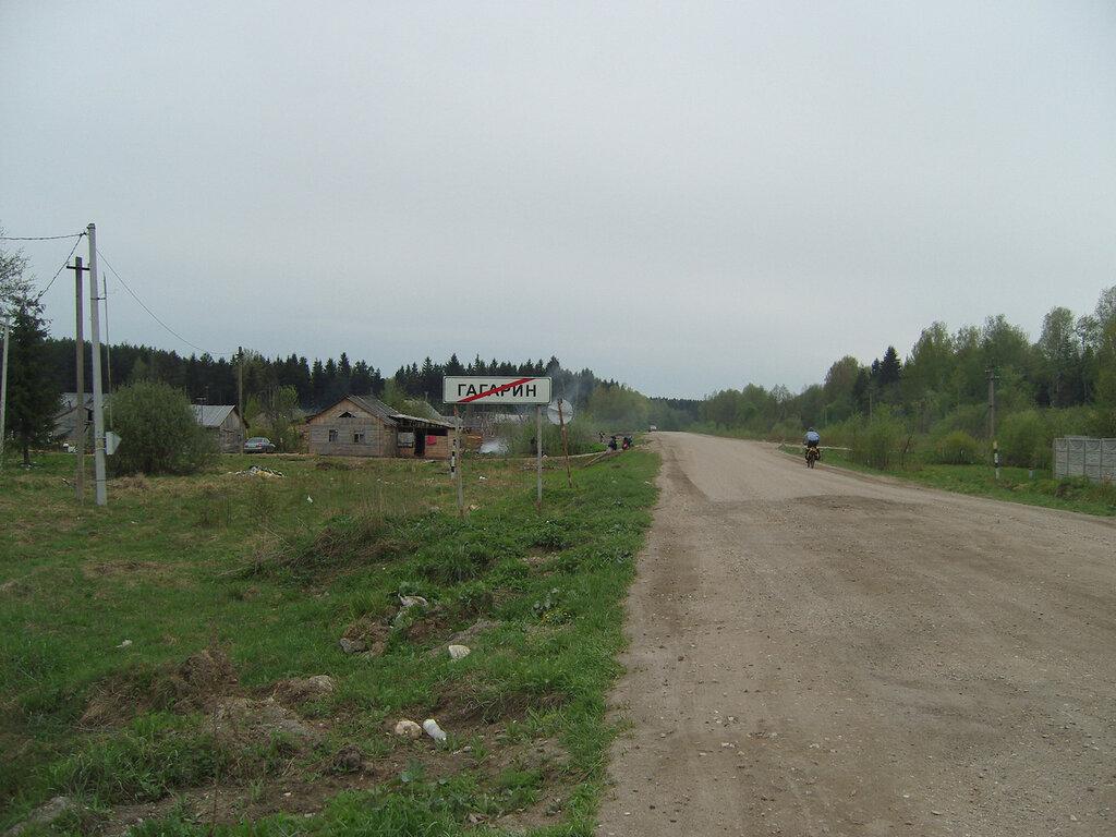 цыганское поселение за границей города Гагарин
