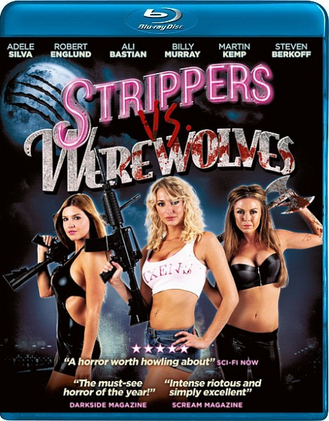 ������������ ������ ��������� / Strippers vs Werewolves (2012) HDRip