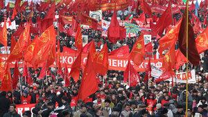 95 лет Октябрьской революции
