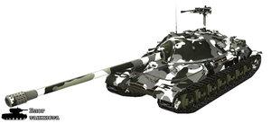 Шкурка для тяжелого танки ИС-7