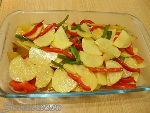 овощи запечь в духовке