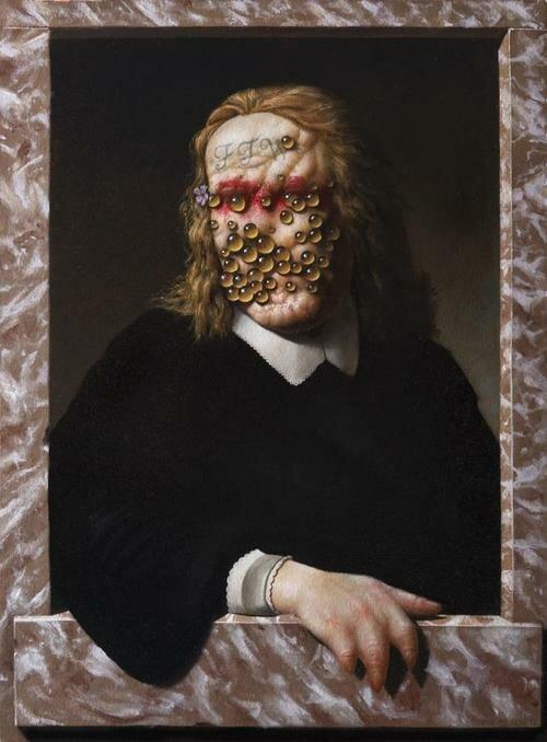 Картины Кристиана Рекс Ван Миннена