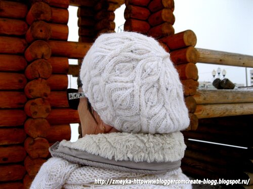 Winter Leaves Beret