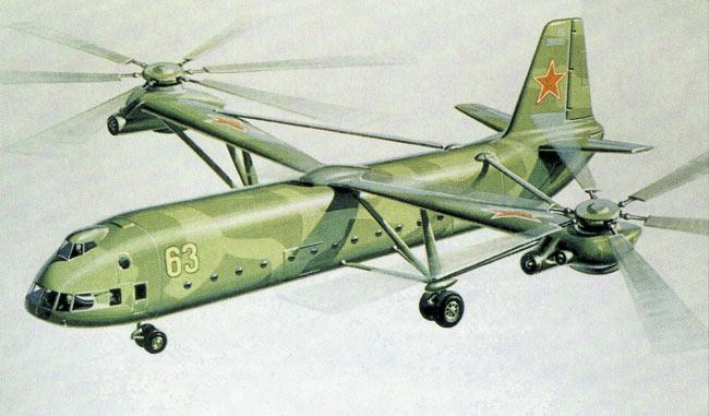 Схема самолет-вертолет