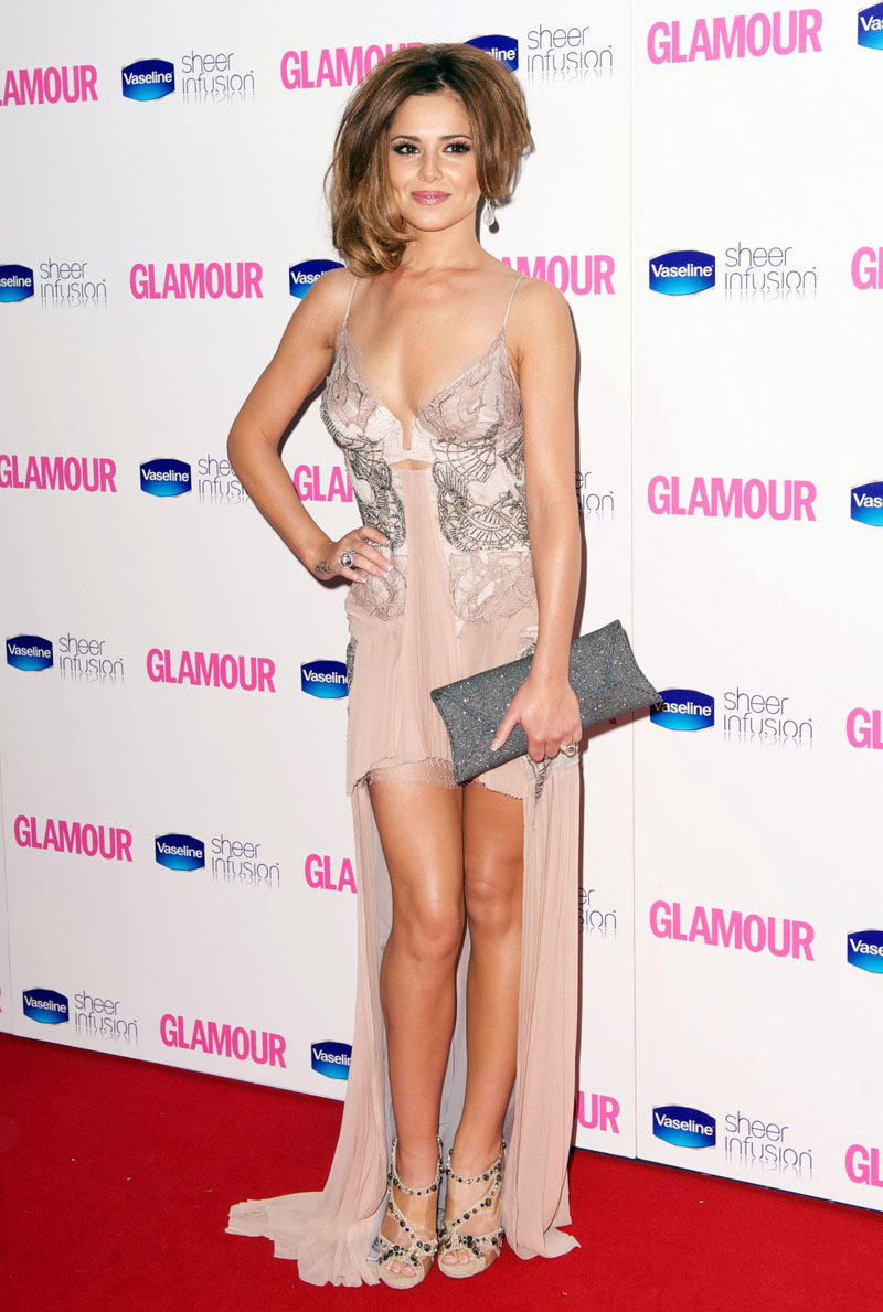 #5164989 Cheryl Cole arriving at the Glamour Awards 2010 in Berkley Square on June 8, 2010 in London, England.<br /><br /><br />Restriction applies: USA ONLY - NO NEW YORK NEWSPAPERS<br /><br /> Fame Pictures, Inc - Santa Monica, CA, USA - +1 (310) 395-0500
