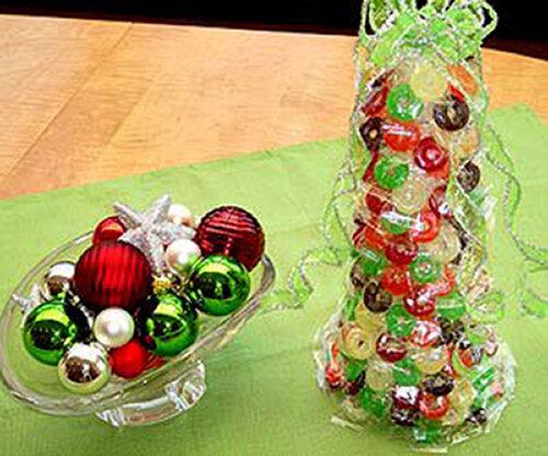 Вкусные новогодние поделки своими руками