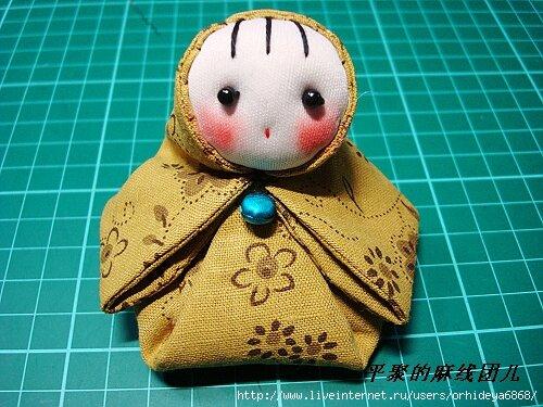Японская кукла мастер класс сделай сам #2