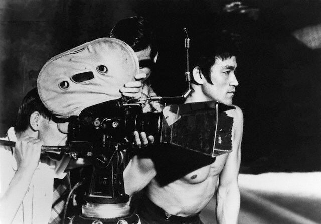 "On the Set of ""The Way of the Dragon"""