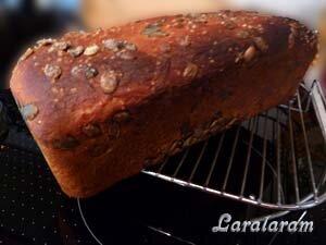 ХлебЧИК - тыковЧИК. Готовый хлеб
