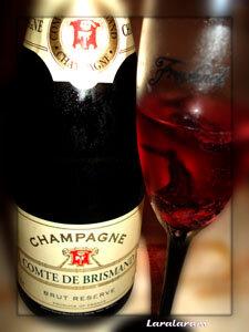 Цвет шампанского с сиропом