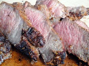 ВЫРЕЗКА на ОГНЕ. Готовое мясо!