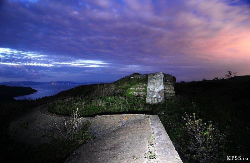 Форт №9 Владивостокской крепости, бруствер очень красив
