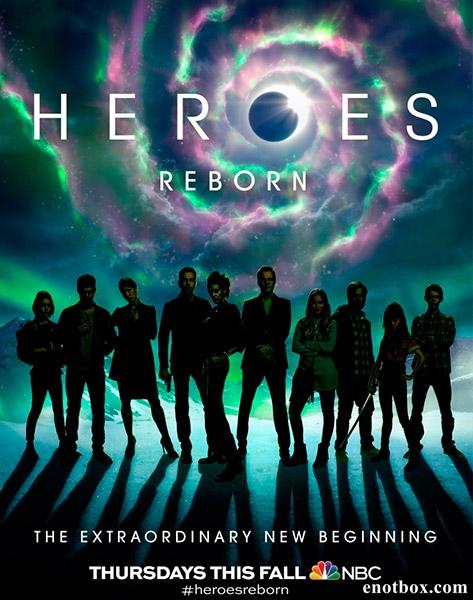 Герои: Возрождение / Heroes Reborn - Полный 1 сезон [2015, WEB-DLRip | WEB-DL 1080p] (LostFilm)