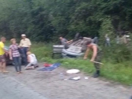 Два человека погибли вДТП вЛенинградской области