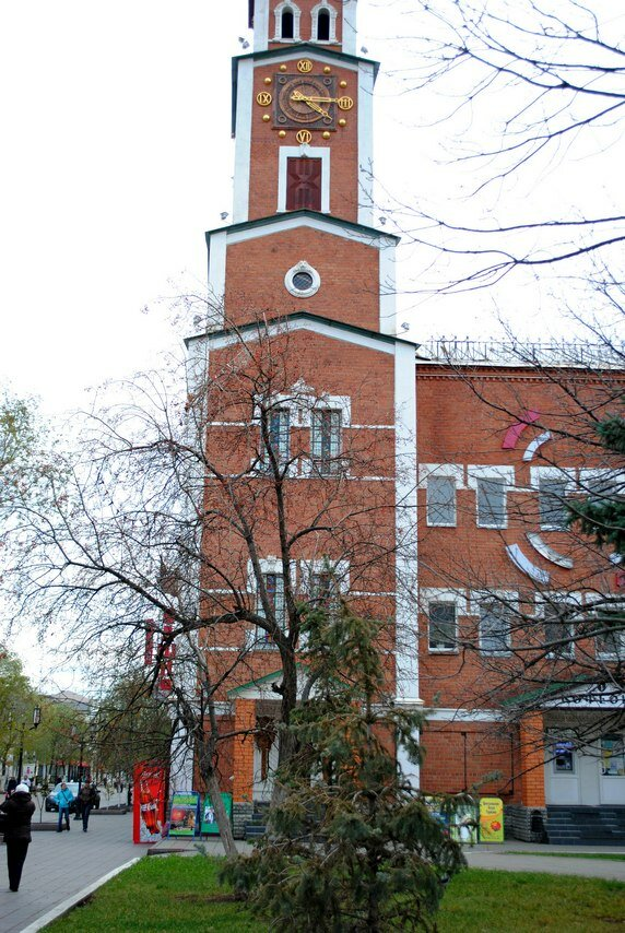 Монастырская башня в Оренбурге