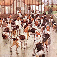 Cecil Aldin, White-ear and Peter