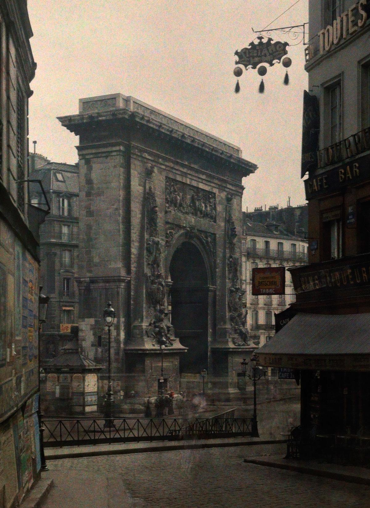 Ворота Сен-Дени.
