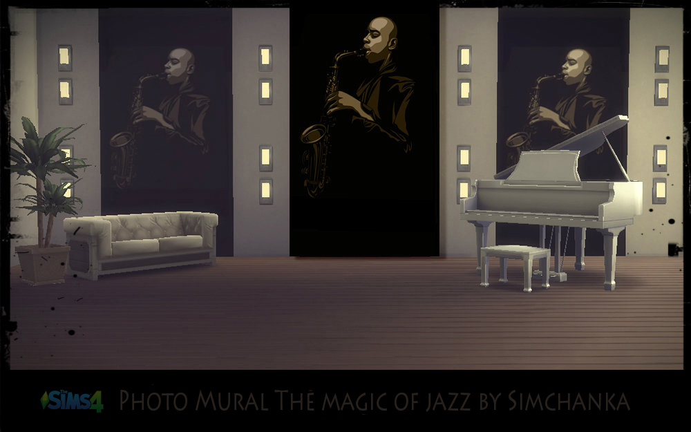 Photo Mural The magic of jazz by Simchanka