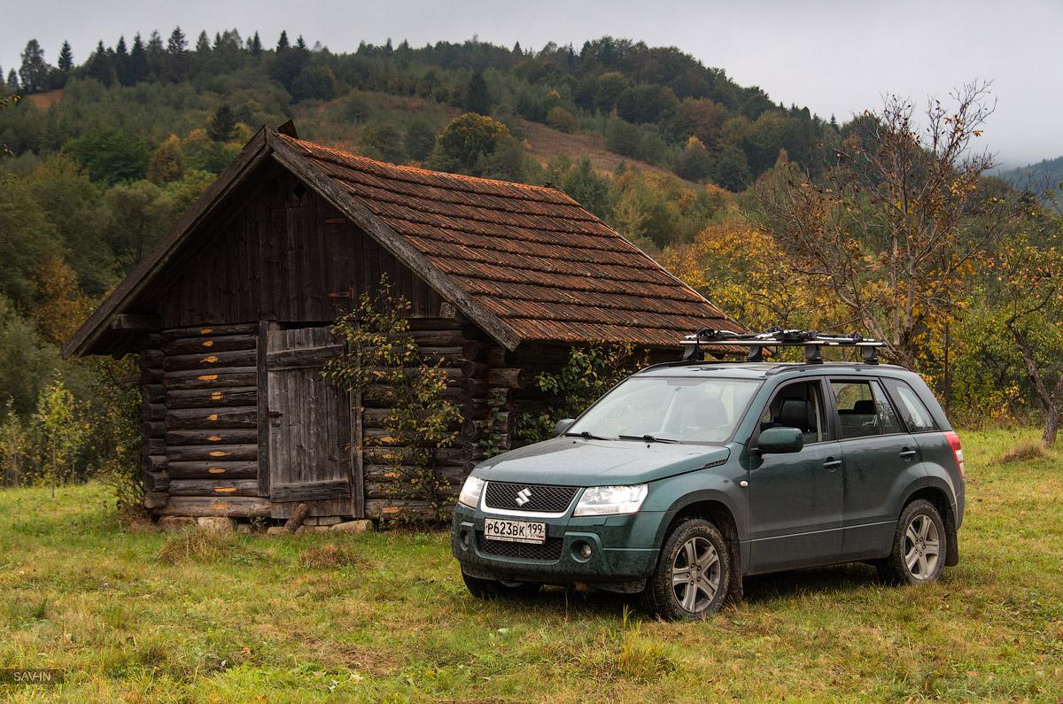 Осень в горах Украины. Карпаты