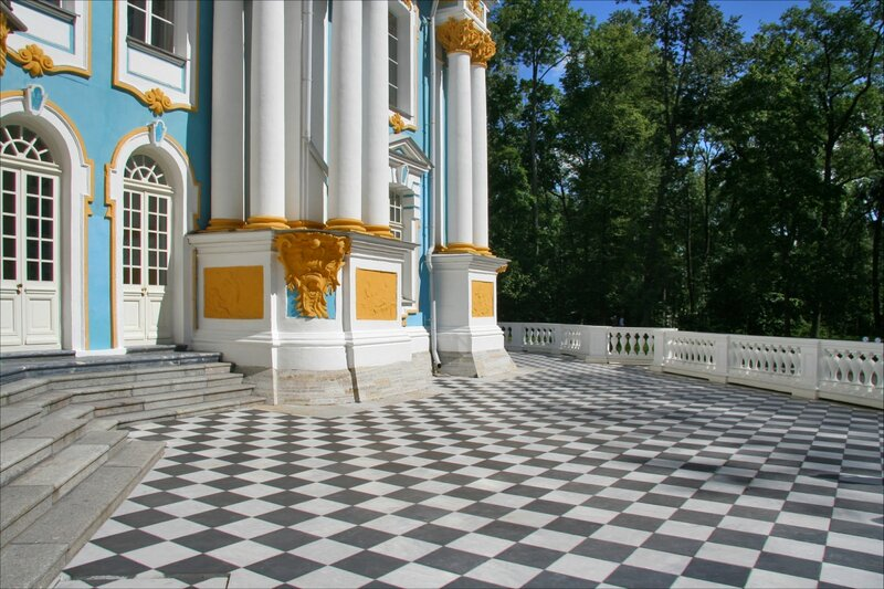 Эрмитаж, Царское Село