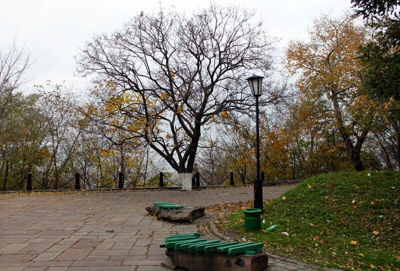 Обзорная площадка на Пейзажной аллее
