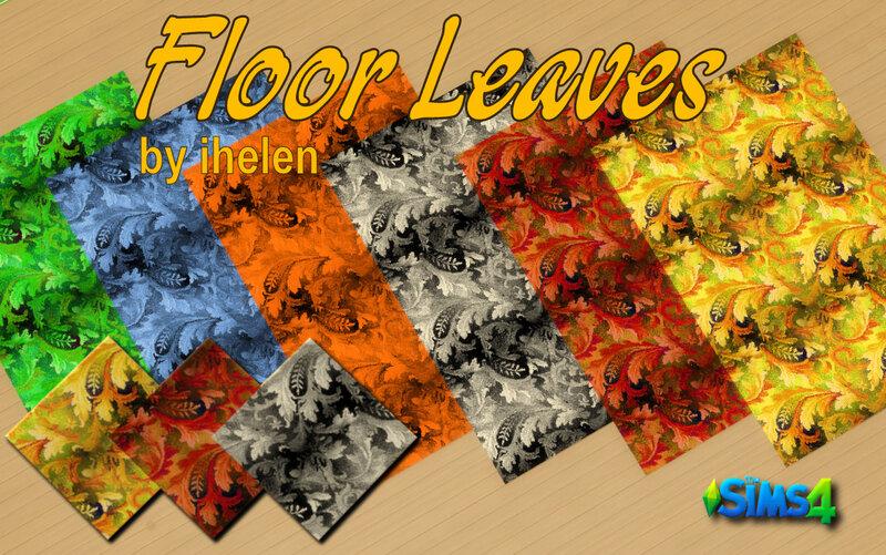 Floor Leaves by ihelen