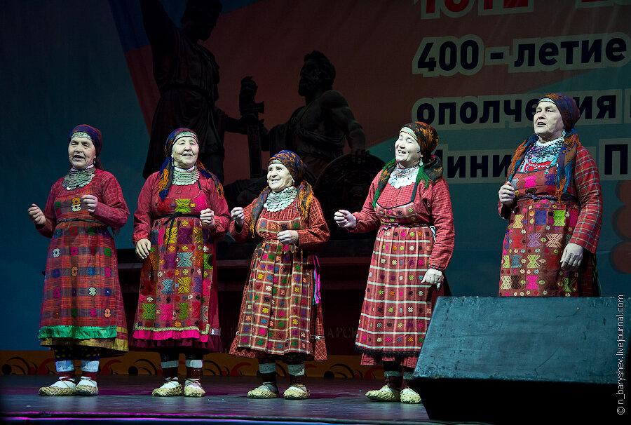 Поздравление бурановских бабушек на юбилей