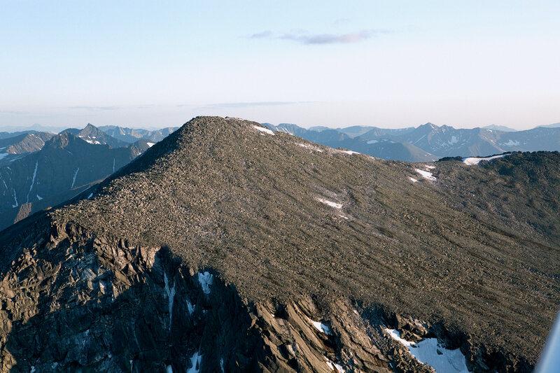 Гора Народная - наивысшая точка Уральских гор