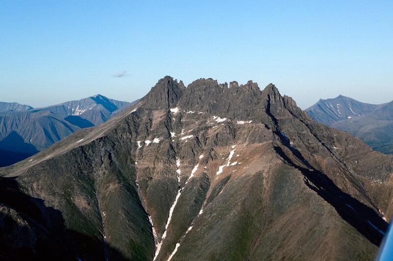 Приполярный Урал - гора Манарага
