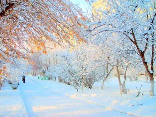 Первый снег, как сахар – сладкий