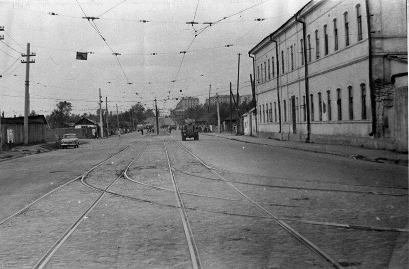 Перекресток улиц Труда и Российской 1976г.
