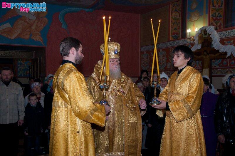 Божественная литургия Митрополита Екатеринодарского и Кубанского Исидора 25112012