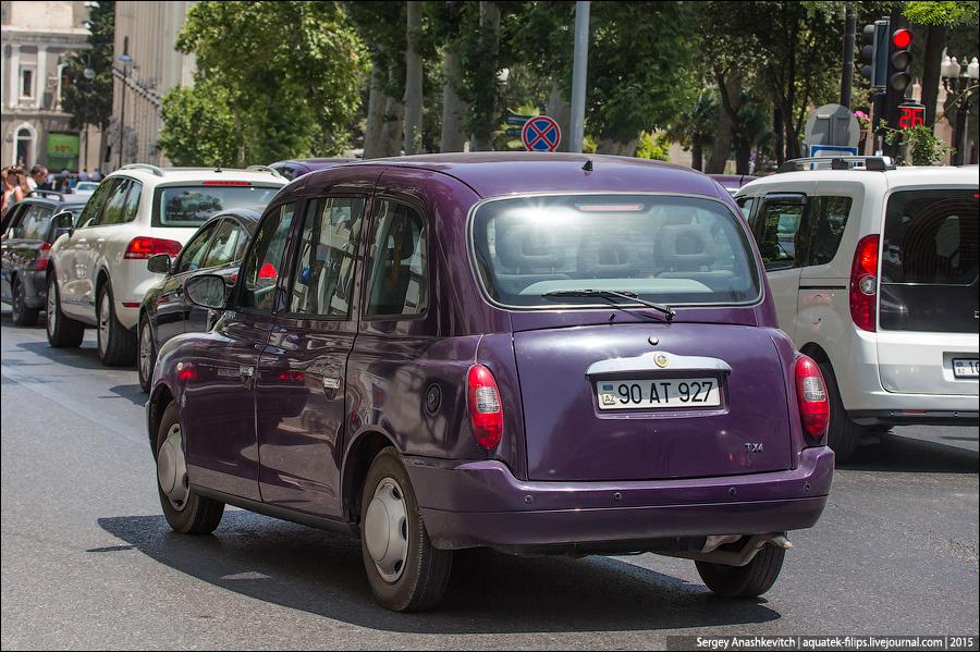 London Cab in Baku / Лондонское такси в Баку
