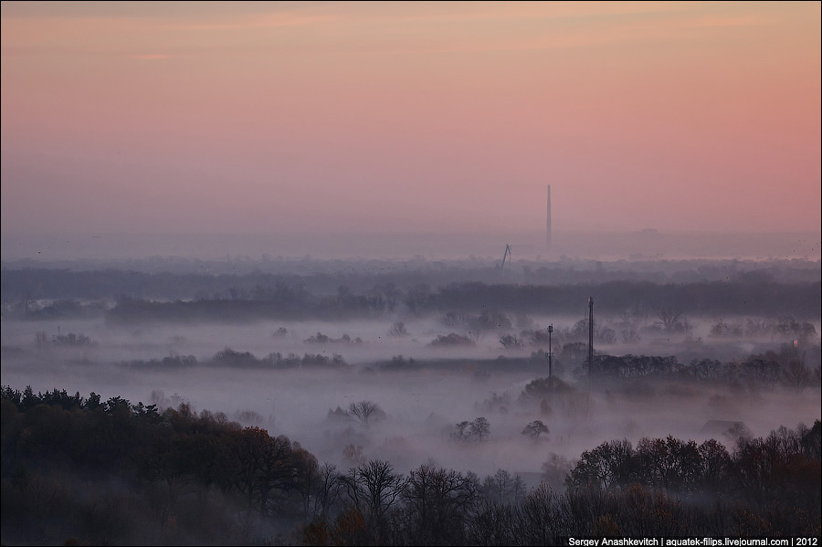 Рассвет в Киеве