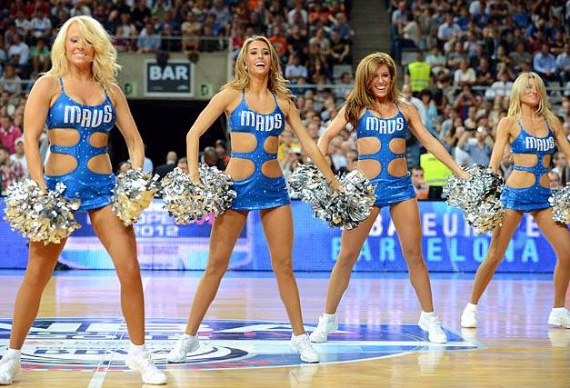 Dallas Mavericks - cheerleaders NBA october 2012 / девушки из групп поддержки в баскетболе НБА